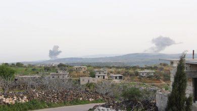 صورة تصعيد روسي في شمال غرب سوريا