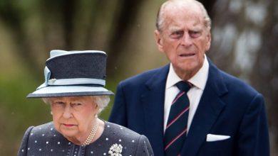 """صورة وفاة زوج ملكة إنجلترا الدوق """"فيليب"""""""