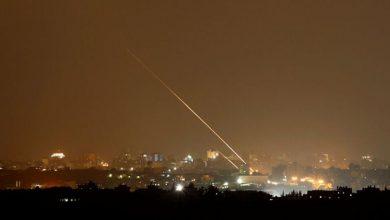 صورة تجدد الغارات الإسرائيلية على قطاع غزة