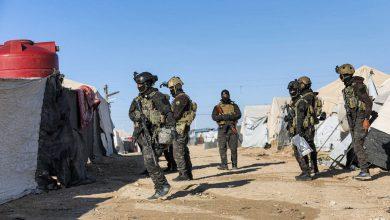 صورة قسد تنهي المرحلة الأولى من الحملة بمخيم الهول