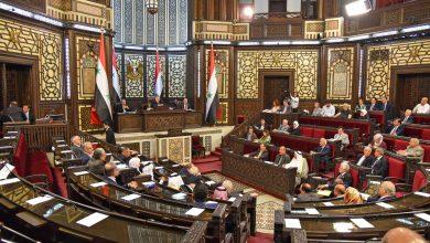 صورة جلسة استثنائية لمناقشة الانتخابات الرئاسية الجديدة