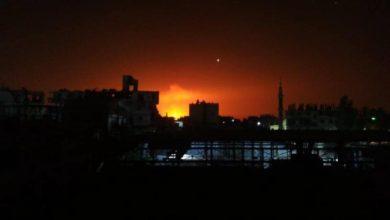 صورة انفجار في مستوع للفرقة الثالثة بالقلمون
