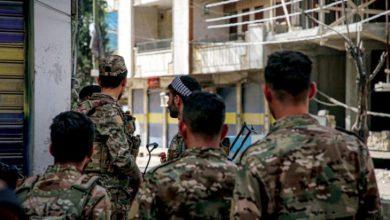 صورة تصاعد وتيرة الاشتباكات في مدينة القامشلي