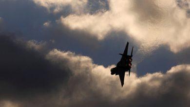 صورة صاروخ سوري طائش على إسرائيل.. وتل أبيب ترد