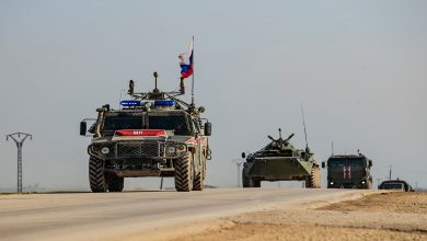 صورة انسحاب جزئي للقوات الروسية من ريف حلب