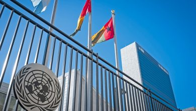 """صورة الأمم المتحدة تعلق على حادثة """"صاروخ ديمونة"""""""