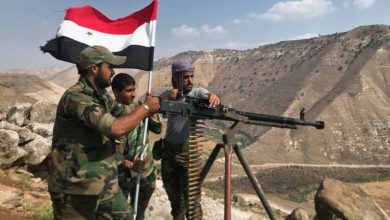 """صورة استهداف عناصر تتبع """"الفرقة الرابعة"""" بريف درعا"""