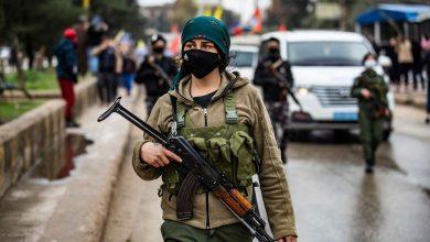 صورة إجراءات أمنية بمناطق قسد قبيل الانتخابات