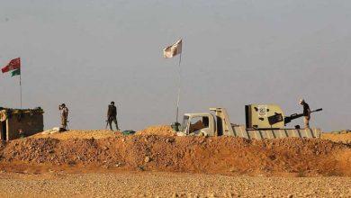 صورة الحرس الثوري ينصب أضخم حاجز عسكري شرقي حمص