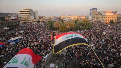 """صورة مظاهرات"""" أين القتلة"""" تجتاح بغداد"""