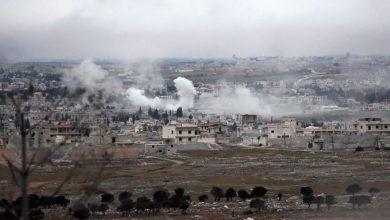 صورة تصعيد عسكري في شمال غرب سوريا