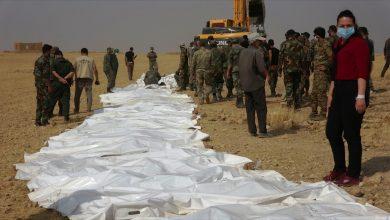 صورة العثور على جثث عناصر للقوات الحكومية في ريف حمص الشرقي