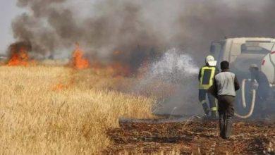 صورة تصعيد عسكري على ريف حماة الغربي