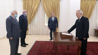صورة عباس يعين سفيراً جديداً لفلسطين لدى سوريا