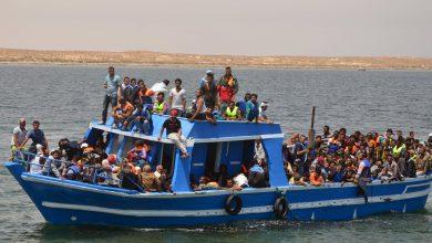 """صورة إيطاليا توافق على إنزال 236 مهاجراً في ميناء """"أوغستا"""""""