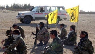 صورة قاعدة إيرانية في مواجهة قسد.. وفرق غواصة