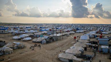 صورة عقب حملة أمنية.. عملية اغتيال جديدة داخل مخيم الهول