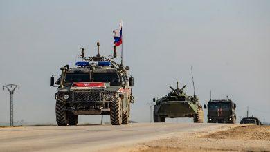 صورة تعزيزات عسكرية روسية إلى الرقة