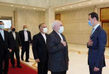 صورة الأسد يلتقي وزير الخارجية الإيراني في دمشق