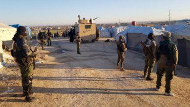 صورة عملية اغتيال جديدة في مخيم الهول