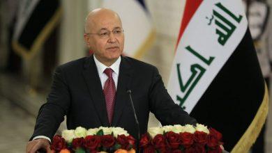 صورة الرئيس العراقي يشدد على إجراء الانتخابات في موعدها