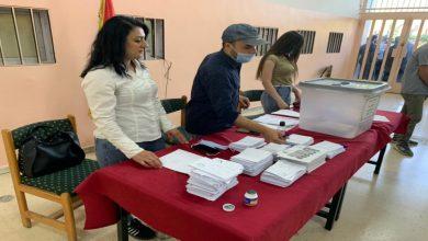 صورة فتح المراكز الانتخابية أمام الناخبين في سوريا.. وسط تشكيك أمريكي وأوروبي