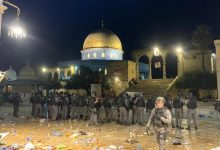 صورة القوات الإسرائيلية تقتحم المسجد الأقصى