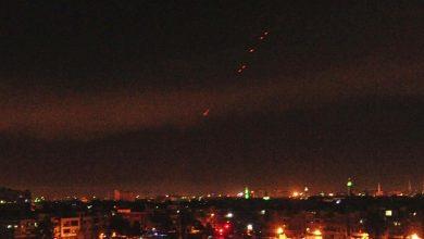 صورة قصف إسرائيلي يستهدف القنيطرة جنوبي سوريا