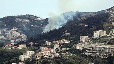صورة قصف للطيران الروسي والقوات الحكومية على قرى ريف اللاذقية