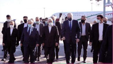 صورة وزير الخارجية الإيراني يصل دمشق
