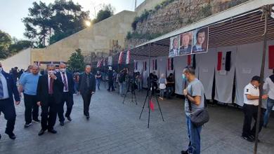 صورة السوريون في الخارج يصوتون في انتخابات الرئاسة