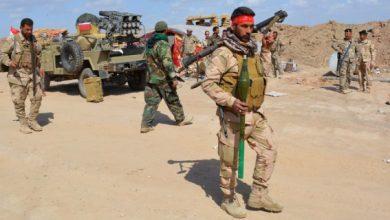 صورة تعزيزات عسكرية لميليشيات إيران على محور جبل العمور غرب تدمر
