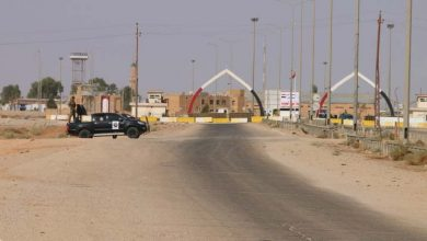 صورة إغلاق معبر السكك الحدودي مع العراق بسبب خلافات الميليشيات