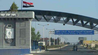 """صورة الأردن يُعيد فتح معبر """"نصيب"""" مع سوريا"""