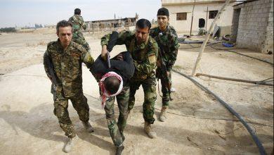 """صورة الميليشيات الإيرانية تعتقل ضابطاً وعناصر من ميليشيا """"النجباء"""" بريف حلب"""