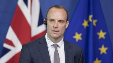 صورة رسالة لخارجية بريطانيا حول الوضع الانساني في سوريا