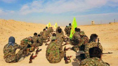 صورة مقرات جديدة لحزب الله العراقي بريف حماة