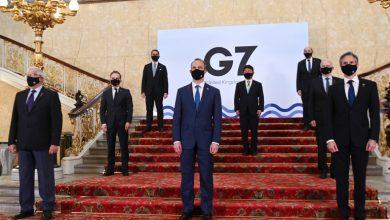 """صورة """"مجموعة السبع"""" تبحث في لندن عن آلية لحل سياسي في سوريا"""