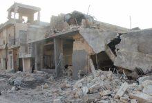 صورة قتلى وجرحى بقصف مدفعي غربي حلب