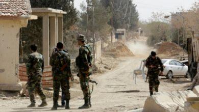 صورة اغتيال ملازم تابع للفرقة الرابعة بريف درعا