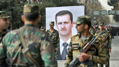 صورة الأجهزة الأمنية تستغل الحفلات الانتخابية لسوق الشبان إلى الخدمة العسكرية في حلب