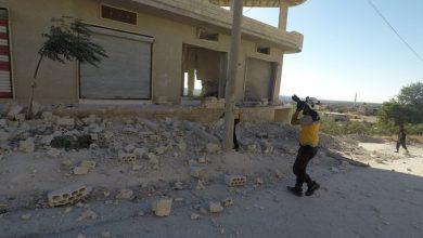 صورة مقتل مدني بقصف للجيش السوري على إدلب