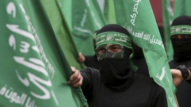 """صورة حظر علم """"حماس"""" وإجراءات ضد إهانة اليهود والمسلمين بألمانيا"""
