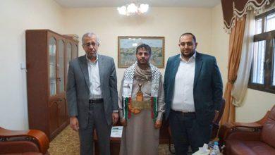 """صورة ممثل حماس لـ""""الحوثيين"""".. شكراً لدعمكم"""