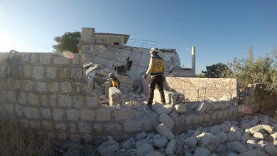صورة قصف مدفعي للجيش السوري يوقع قتلى
