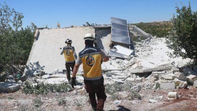 صورة جرحى بقصف مدفعي جديد على ريف إدلب