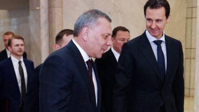 """صورة نائب رئيس الوزراء الروسي يتوجه إلى دمشق للقاء """"الأسد"""""""