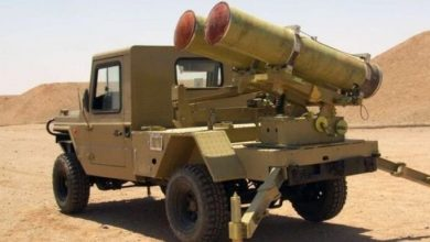 صورة مصنع إيراني لراجمات الصواريخ في الميادين