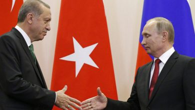 """صورة """"بوتين"""" و""""اردوغان"""" يبحثان خفض التصعيد في سوريا"""