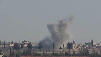صورة قصف جوي روسي في إدلب والمدفعية التركية ترد